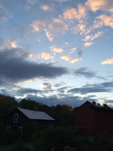 Dusk on the Farm